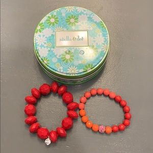 Stella & Dot Kids Poppy Bracelet Set